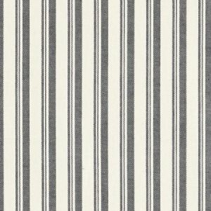 Schumacher Capri Black White Fabric