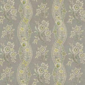 Schumacher Le Castellet Grisaille Jonquil 175981 Fabric