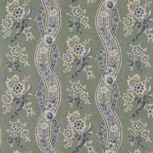 Schumacher Le Castellet Gris Bleu 175982 Fabric