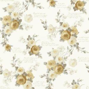 York MH1527 Heirloom Rose Wallpaper