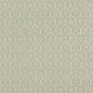 Schumacher Burley Aqua BURL003 Fabric