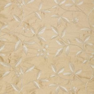 Schumacher Adelaide Embroidery Blonde 64331 Fabric