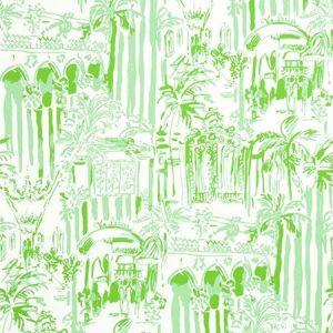 Lee Jofa La Via Loca Palm Green P2016101-23 Wallpaper