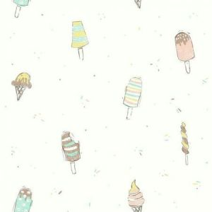 York WI0106 Ice Cream Wallpapers