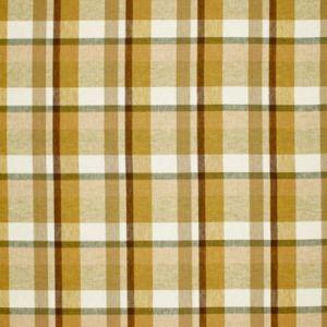 Schumacher Augusta Linen Plaid Sand Dune 3484001 Fabric