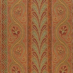 Schumacher Chatelaine Paisley Tuscan 50773 Fabric