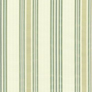 Schumacher Biella Silk Stripe Aqua 62180 Fabric