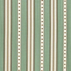 Schumacher Francesca Stripe Aqua 64753 Fabric