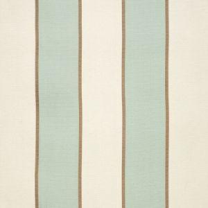 Schumacher Montebello Stripe Aqua 64783 Fabric