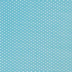 Schumacher Queen B II Aqua 176563 Fabric