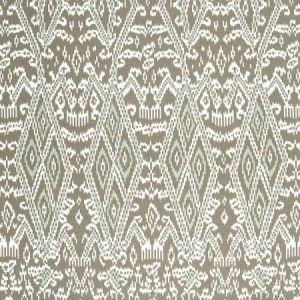 Schumacher Maya Ikat Print Greige 174751 Fabric