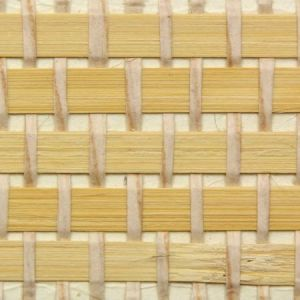 Astek ED152 Grasscloth Beige and Cream Wallpaper
