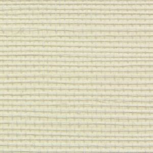 Astek ED153 Grasscloth Eggshell White Wallpaper