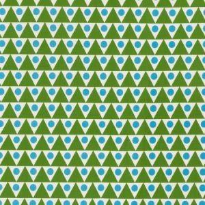 Schumacher Pennant II Green Aqua 176641 Fabric