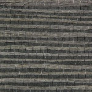 Astek ED160 Grasscloth Graphite Jute Wallpaper