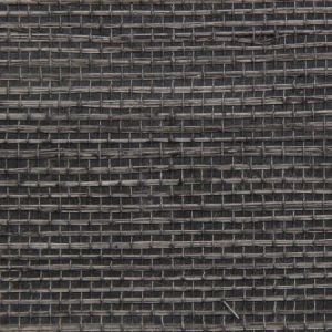 Astek ED164 Grasscloth Graphite Sisal Fine Wallpaper