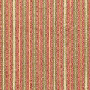 Schumacher Toscana Stripe Tuscan Red 68730 Fabric