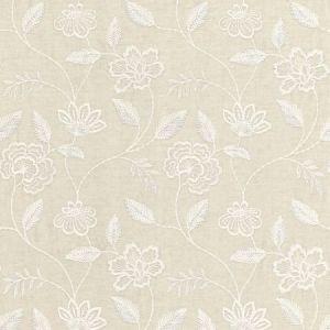 Schumacher Penelope Embroidery Linen 68761 Fabric