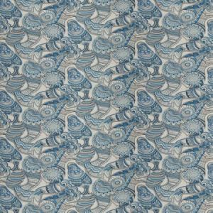 Vervain Magura China Blue Fabric