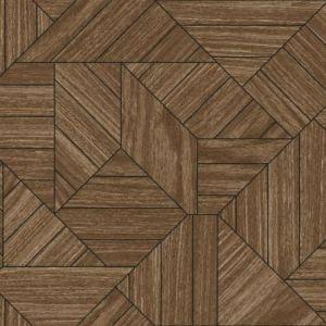 HO3370 Wood Geometric York Wallpaper