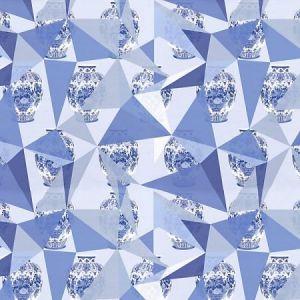 WNM 0002ELEM ELEMENTS Blue Scalamandre Wallpaper