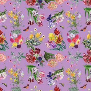 WNM 0002FLOR FLORA & FAUNA Orchid Scalamandre Wallpaper