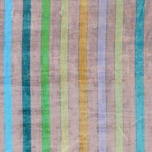 N4 0004GRA GRAND STRIPE Pewter Jewel Scalamandre Fabric