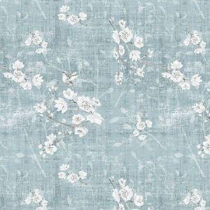 N4 1041BL1 BLOSSOM FANTASIA Slate Scalamandre Fabric
