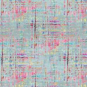 N4 1004CO1 COCO PRINT Bleu Scalamandre Fabric