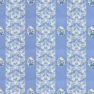 WNM 0002IMPE IMPERIAL Blue Scalamandre Wallpaper
