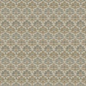7629502 GAMBA DAMASK Nougat 02 Stroheim Fabric