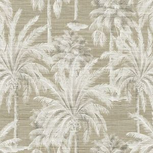 PS40007 DREAM OF PALM Trees Brown Texture Brewster Wallpaper