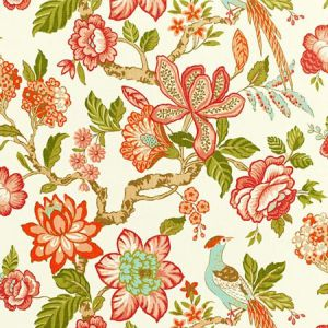 175561 HUNTINGTON GARDENS Coral Schumacher Fabric