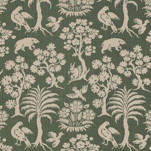 176173 WOODLAND SILHOUETTE Moss Schumacher Fabric