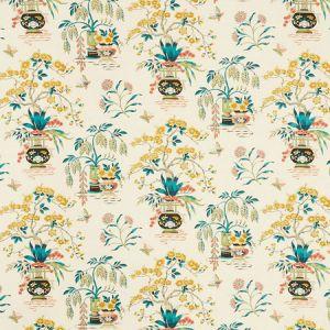 176732 MING VASE Multi Schumacher Fabric