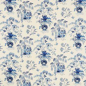 176733 MING VASE Porcelain Schumacher Fabric