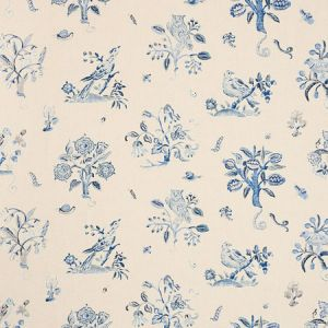 176753 MAGICAL MENAGERIE Blues Schumacher Fabric