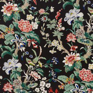 176760 NYMPHAEA Night Schumacher Fabric