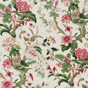 176761 NYMPHAEA Fuchsia Schumacher Fabric