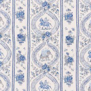 176801 KANDULA Blues Schumacher Fabric