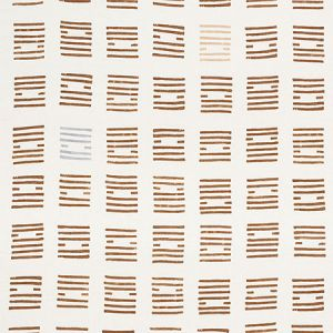 177883 TIASQUAM Teak Schumacher Fabric