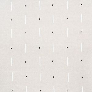 177901 TASHMOO Black & White Schumacher Fabric