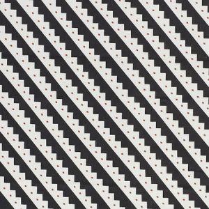 178021 ZEPPELIN Black Schumacher Fabric