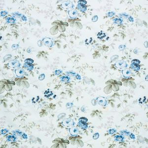 178150 SALISBURY CHINTZ Celadon Schumacher Fabric