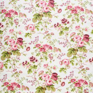 178151 SALISBURY CHINTZ Garnet Schumacher Fabric
