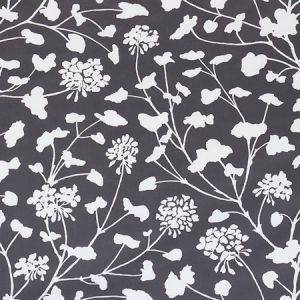 178541 PENNICK CHINTZ Black Schumacher Fabric