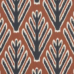 178562 BODHI TREE Brown Black Schumacher Fabric