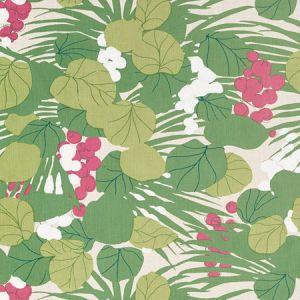 178631 SEA GRAPES Tropical Schumacher Fabric