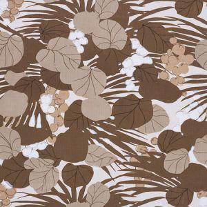 178632 SEA GRAPES Bark Schumacher Fabric