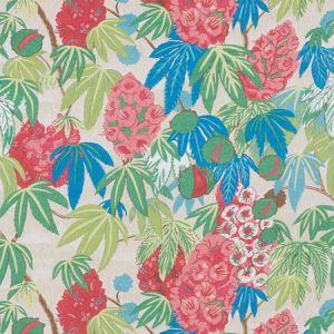 178640 DEL LUNGO Coral Schumacher Fabric